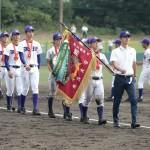 天理高校野球部夏の甲子園出場決定 行進