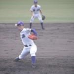 天理高校野球部夏の甲子園出場決定 渾身のピッチング