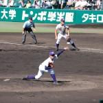 天理高校野球部 甲子園初戦 先発・坂根投手が完封