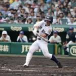 天理高校野球部 甲子園3回戦 バッティング