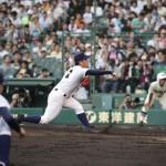 天理高校野球部 甲子園3回戦 先発・碓井投手