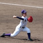 天理高校野球部 甲子園準々決勝 エース碓井投手