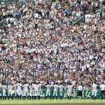 天理高校野球部 甲子園準決勝 27年ぶりベスト4入り