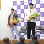 リオオリンピック・パラリンピック祝賀会 大野・正木両選手