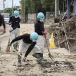 災救隊福岡教区隊 九州北部豪雨の被災地へ 7月11日 朝倉市で活動