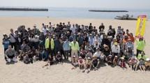 兵庫教区須磨支部 神戸市の須磨海岸で