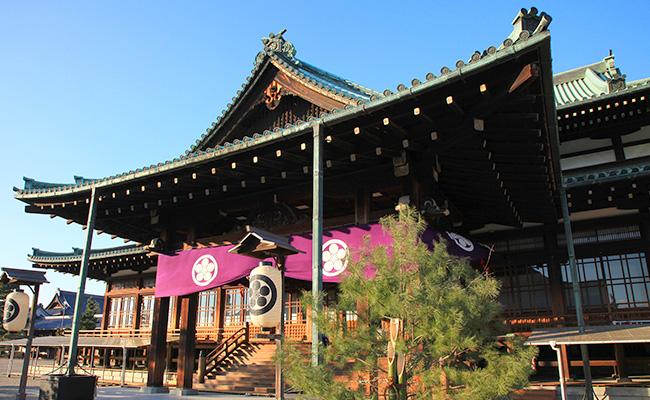 正月の教祖殿