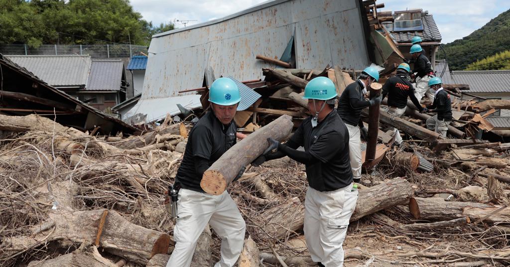 災害救援ひのきしん隊の取り組み