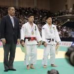 全日本選抜柔道体重別選手権大会 73キロ級 大野将平選手優勝 表彰式