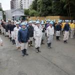 熊本地震 災救隊第21次隊 益城町 出発