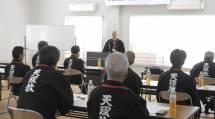 「教誨師・篤志面接委員新任研修会」が開かれ、新任の教誨師を含む22人が参加した(9月25日、社会福祉課で)