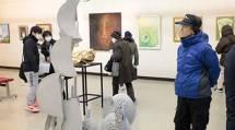 2019年2月3日-5面-天理美術展-記事