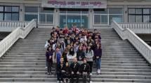 韓国の高校生たちは、仲間たちと共に教えにふれ、信仰を育んだ(2月23日、韓国伝道庁で)