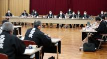 第254回「定時集会」では、2件の一般質問などが討議された(11月27日、教庁4階講堂で)