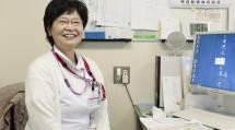 「患者や家族が幸せに過ごせる環境を整えたい」と話す河合さん