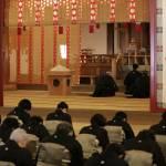 大亮様は祭文の中で、教祖の道具衆としてたすけ一条の御用に努めきる決意を奏上された(4月18日)