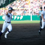 天理高校野球部 甲子園初戦 ホームラン