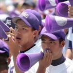 天理高校野球部 甲子園準々決勝 熱い声援を送る