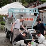 続報・災救隊福岡教区隊 九州北部豪雨の被災地へ 7月12日 給水作業