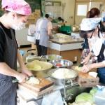 続報・災救隊福岡教区隊 九州北部豪雨の被災地へ 7月14日 教区有志が炊き出し