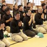 災救隊福岡教区隊 九州北部豪雨の被災地へ 7月11日 結隊式