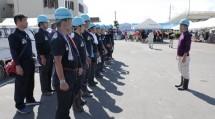 大分教区隊は、社協からのニーズ票をもとに、被災民家へ出動した(9月5日)