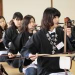 立教178年学修大学の部:鳴物練習(3月5日)