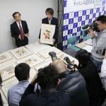 天理参考館 世界遺産の発掘資料を初公開 2