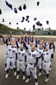 天理高校野球部3年ぶり23回目センバツ出場決定