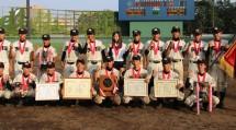 天理高校第2部軟式野球部・全国大会10連覇達成1